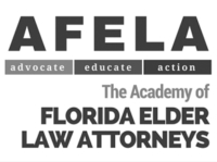 AFELA. Advocate. Educate. Action. The academy of Florida Elder Law Attorneys.